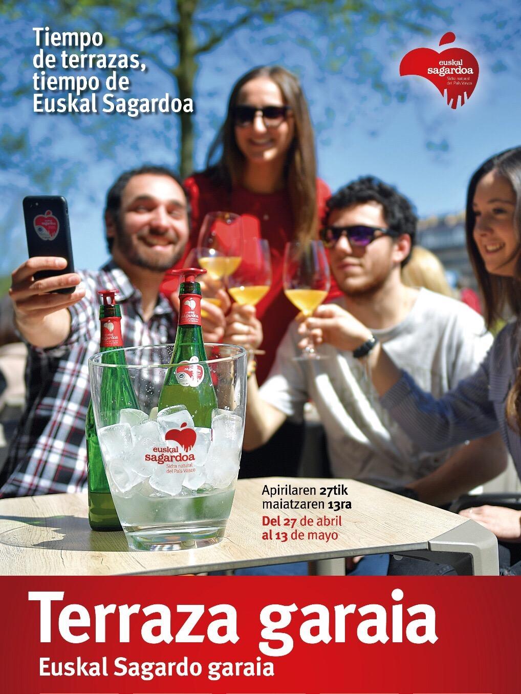 Badator terraza garaia, Euskal Sagardo garaia