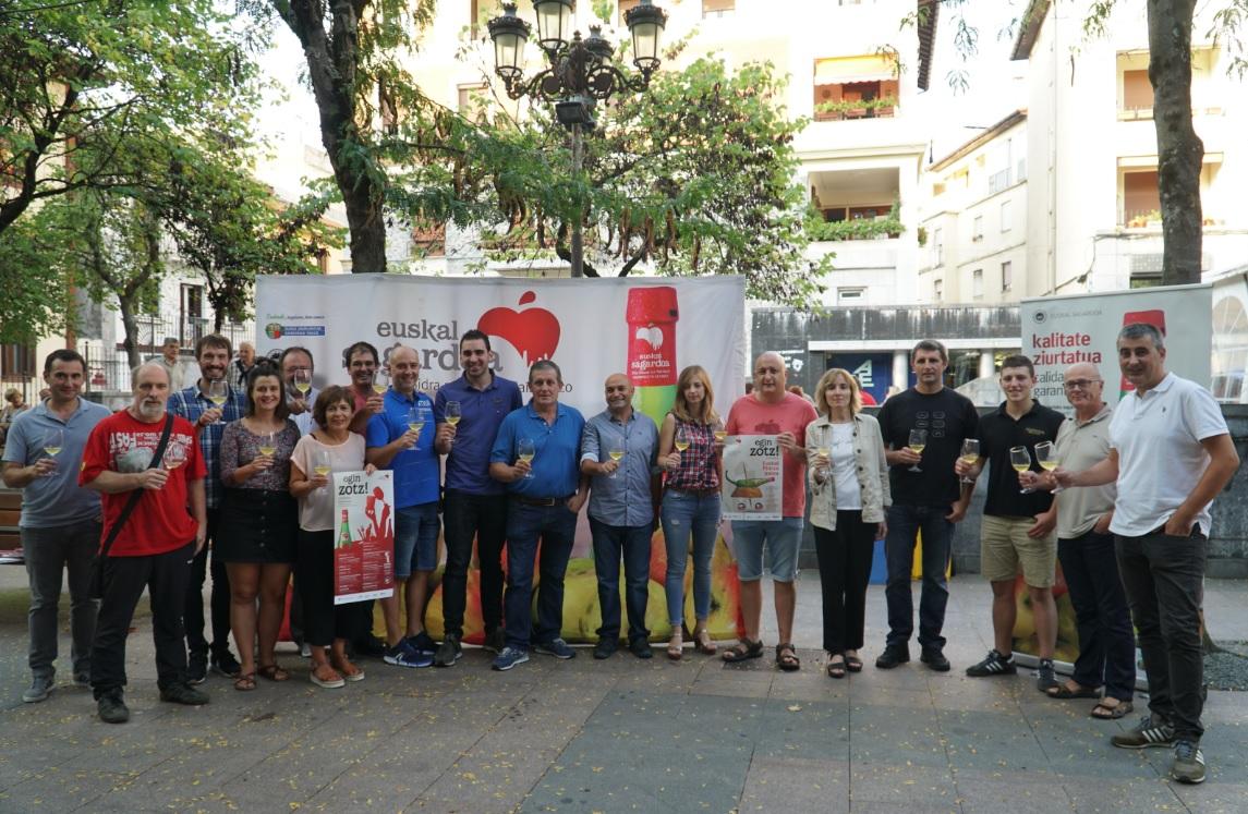 En marcha la campaña 'Egin Zotz!' de Euskal Sagardoa