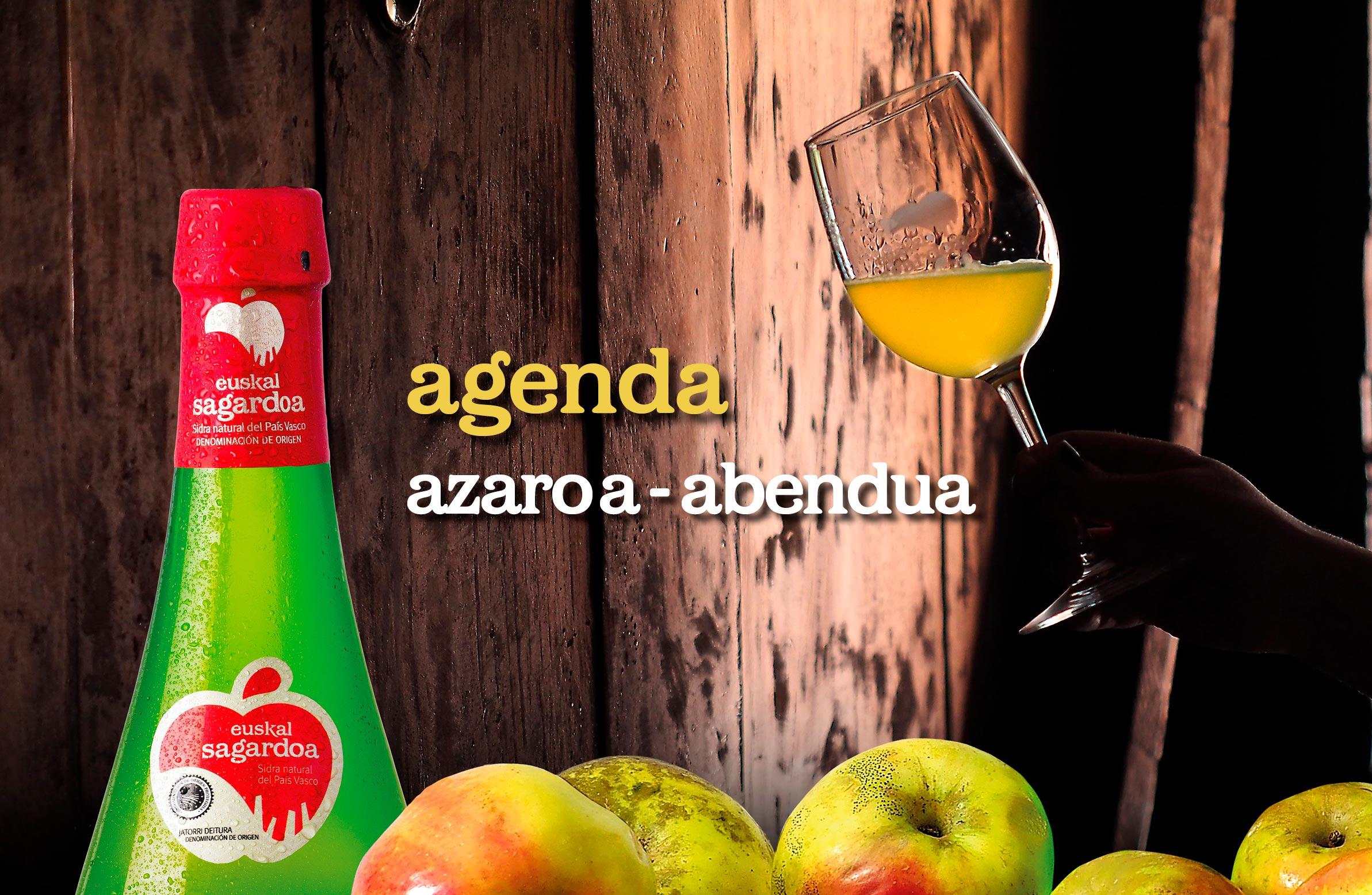 Agenda de noviembre y diciembre 2019 de Euskal Sagardoa