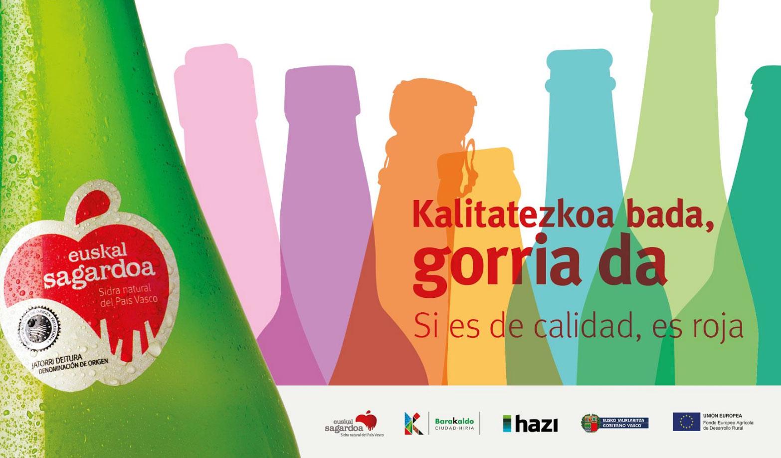 El 30 de noviembre se celebrará Euskal Sagardo Eguna en Barakaldo