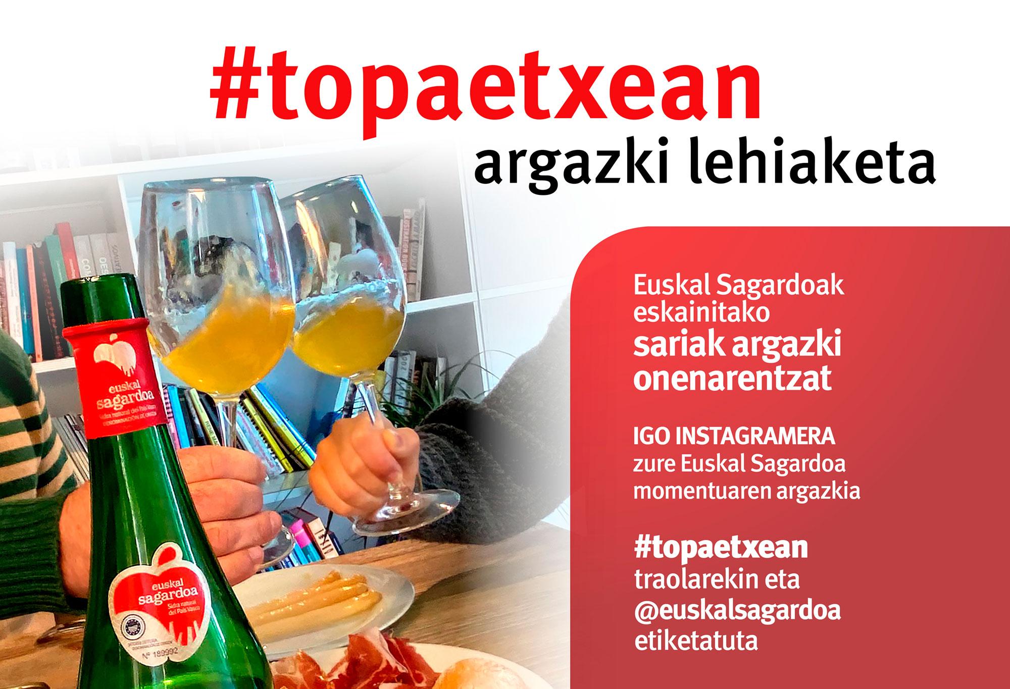 #TOPAETXEAN ARGAZKI LEHIAKETA